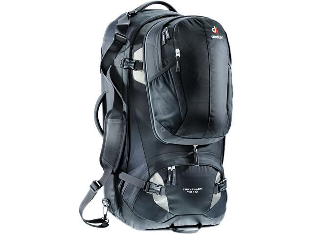Deuter Traveller 70 + 10 Backpack black-silver